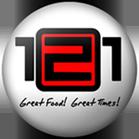 121 Restaurant Logo